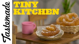 Tiny Funnel Cake l Tiny Kitchen