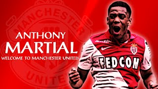 anthony martial skill goal welcome to manchester united