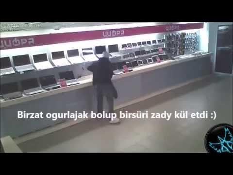Turkmen prikol - Dünýäniň iň ysnat ogrylary ( Gündiziň günertany talaňçylyk :)  )