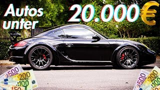 Die besten Anfänger Autos für unter 20000€ | RB Engineering | Porsche Cayman