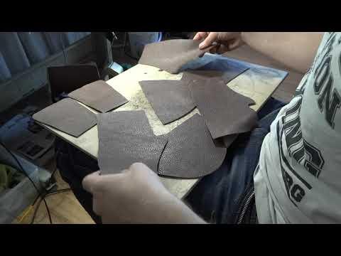 How To Make A Leather Snakers. Как сделать кожаные кеды.как сделать обувь