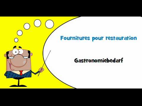 Vocabulaire fran ais allemand th me ustensiles de cuisine youtube - Vocabulaire cuisine allemand ...