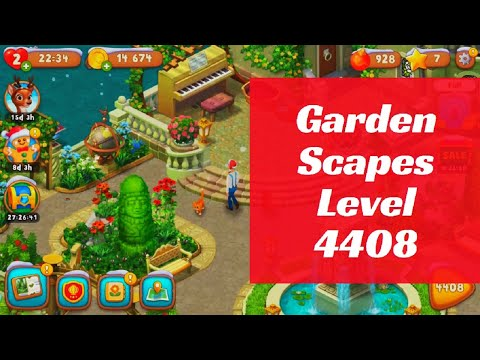 Gardenscapes Level 4408