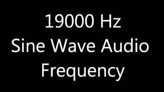 19000 Hz sound full 6 hours