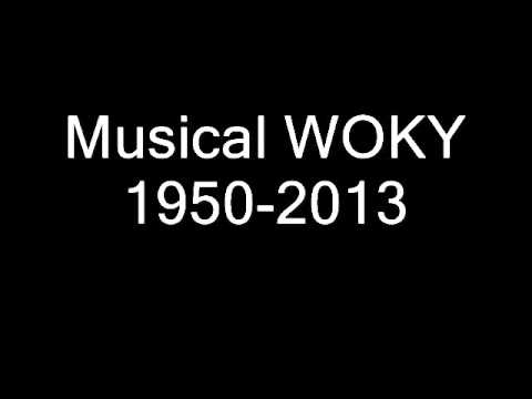 WOKY as a music station 1950-2013
