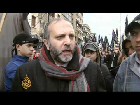 Lebanese Islamists support Syria uprising
