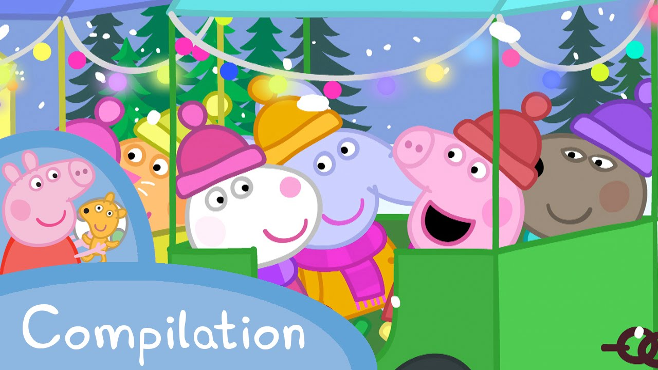 Peppa Pig Winter Compilation 10 Minutes