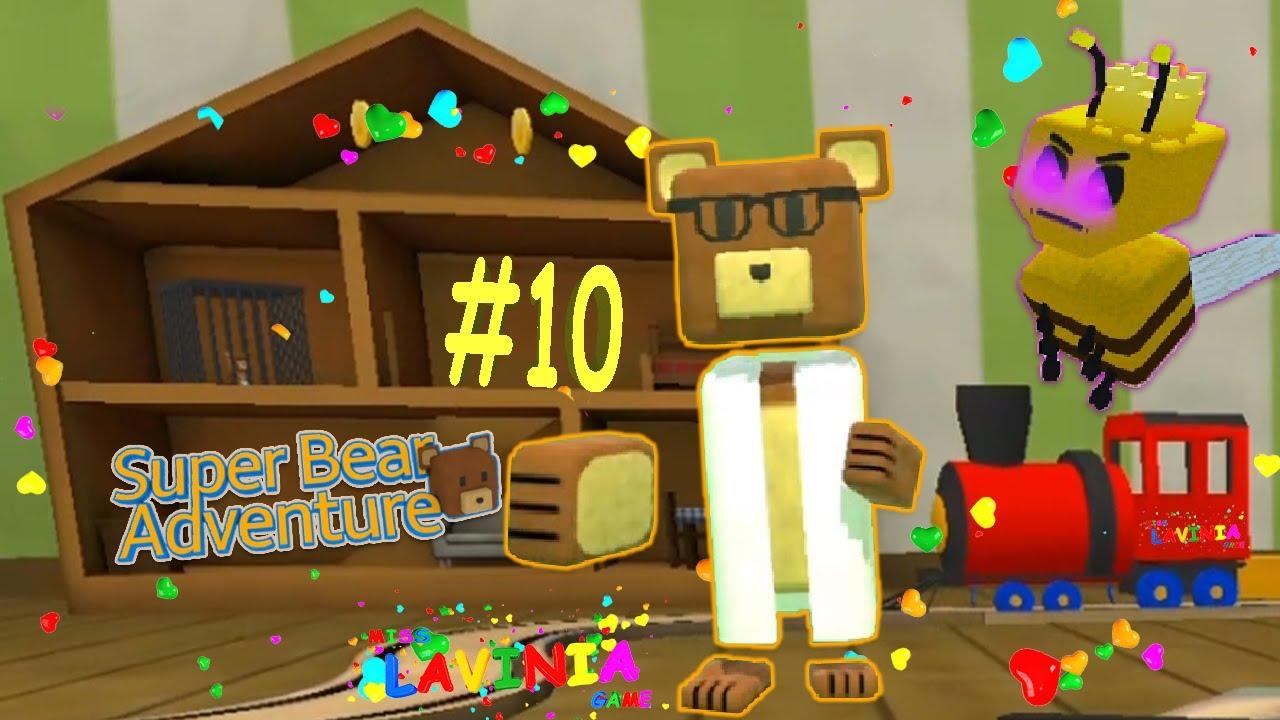 Прохождение игры Super Bear Adventure на русском освобождение мишки #10! Приключение Супер Мишки!
