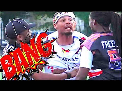 No Pads - No Helmets - All CRAZY - 🔥🔥 A7FL - Baltimore Gators vs Baltimore Cobras - 7v7 Full Conta