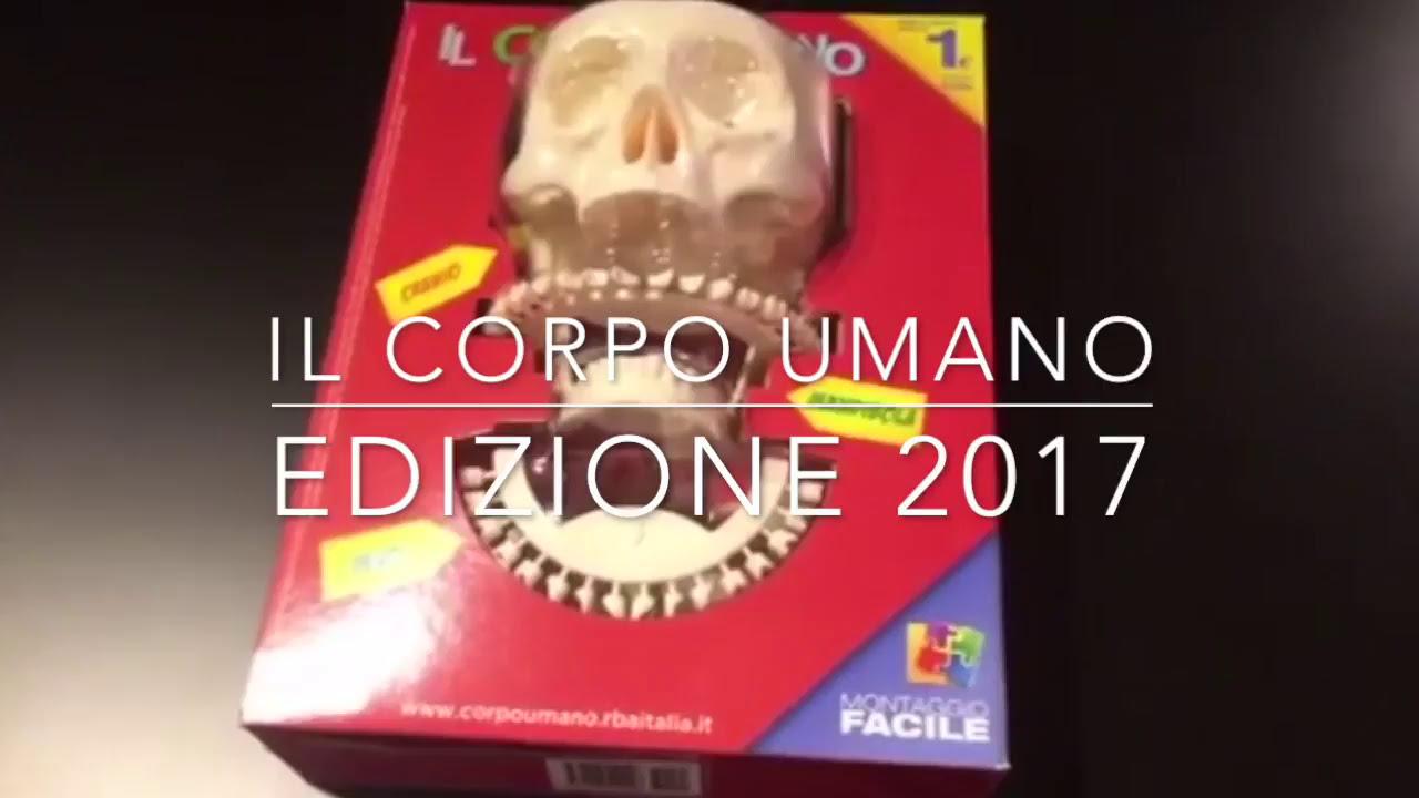 Il Corpo Umano Edizione 2017 - The Human Body Edition 2017