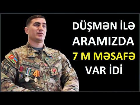 46 XÜSUSİ TƏYİNATLI erməni əsgərini məhv edən XTQ-in Qazisi Araz Məlikov.