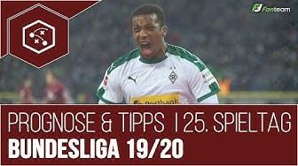 Bundesliga Prognose & Tipps: 25. Spieltag (2020) + 64 Fussball Wetten