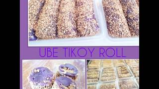 How to cook UBE TIKOY ROLL