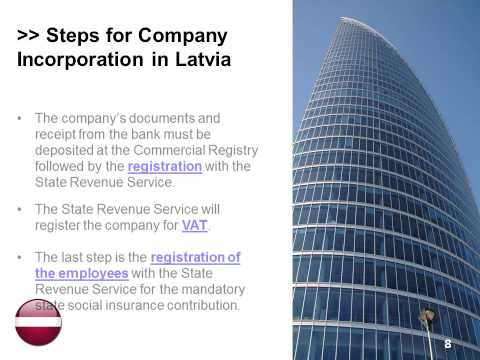 Open a Company in Latvia