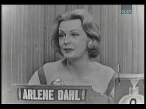 arlene dahl what's my line