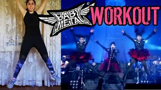 This is the second part of my BABYMETAL workout video! It's focused...