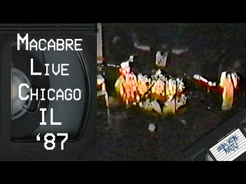MACABRE Live in Chicago IL 1987 FULL CONCERT