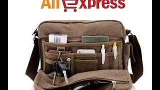 Мужская сумка. Посылка с AliExpress(, 2016-07-30T19:03:17.000Z)