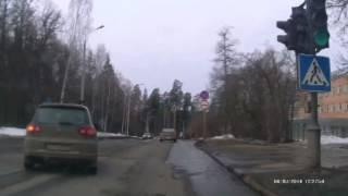 Обгон на светофоре