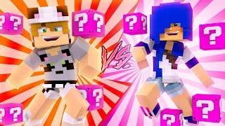 QUEM A GENTE NAMORA?! no MINECRAFT (Batalha Lucky Block)
