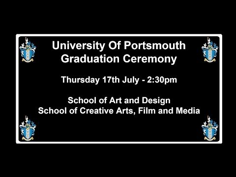 Graduation 2014 School of Art and Design School of Creative Arts, Film and Media