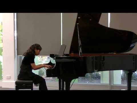 Nina Fan (12yrs) piano performed