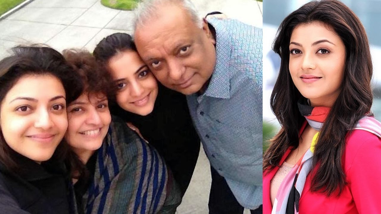 Kajal Aggrawal with family Hd wallpaper