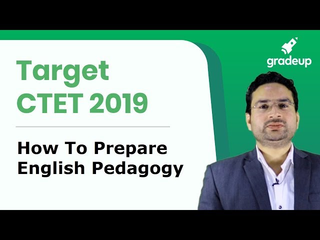 CTET 2019 | How to prepare English Pedagogy for CTET Exam