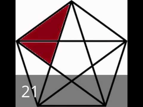 Cuántos Triángulos Tiene El Pentágono Youtube