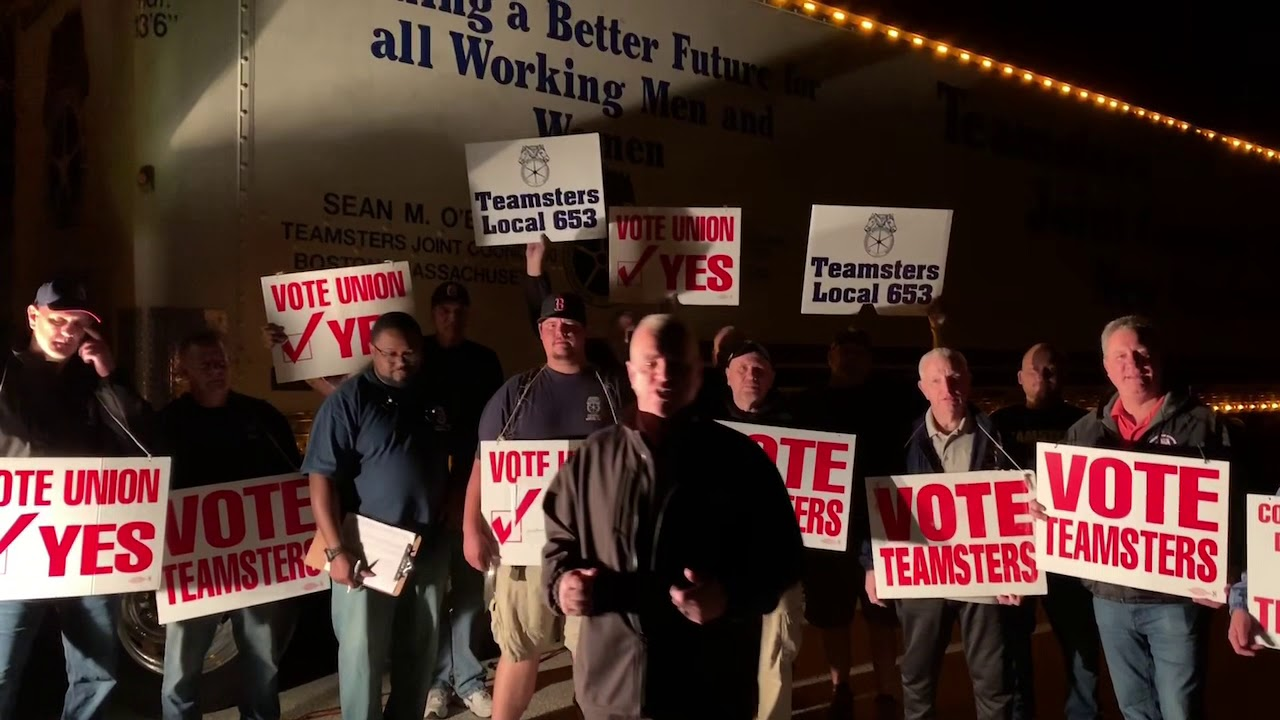 TEAMSTER'S ELECTION DAY MESSAGE TO SYSCO BOSTON!