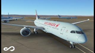 Air Canada B787 Dreamliner | Calgary to Vancouver | Infinite Flight Global