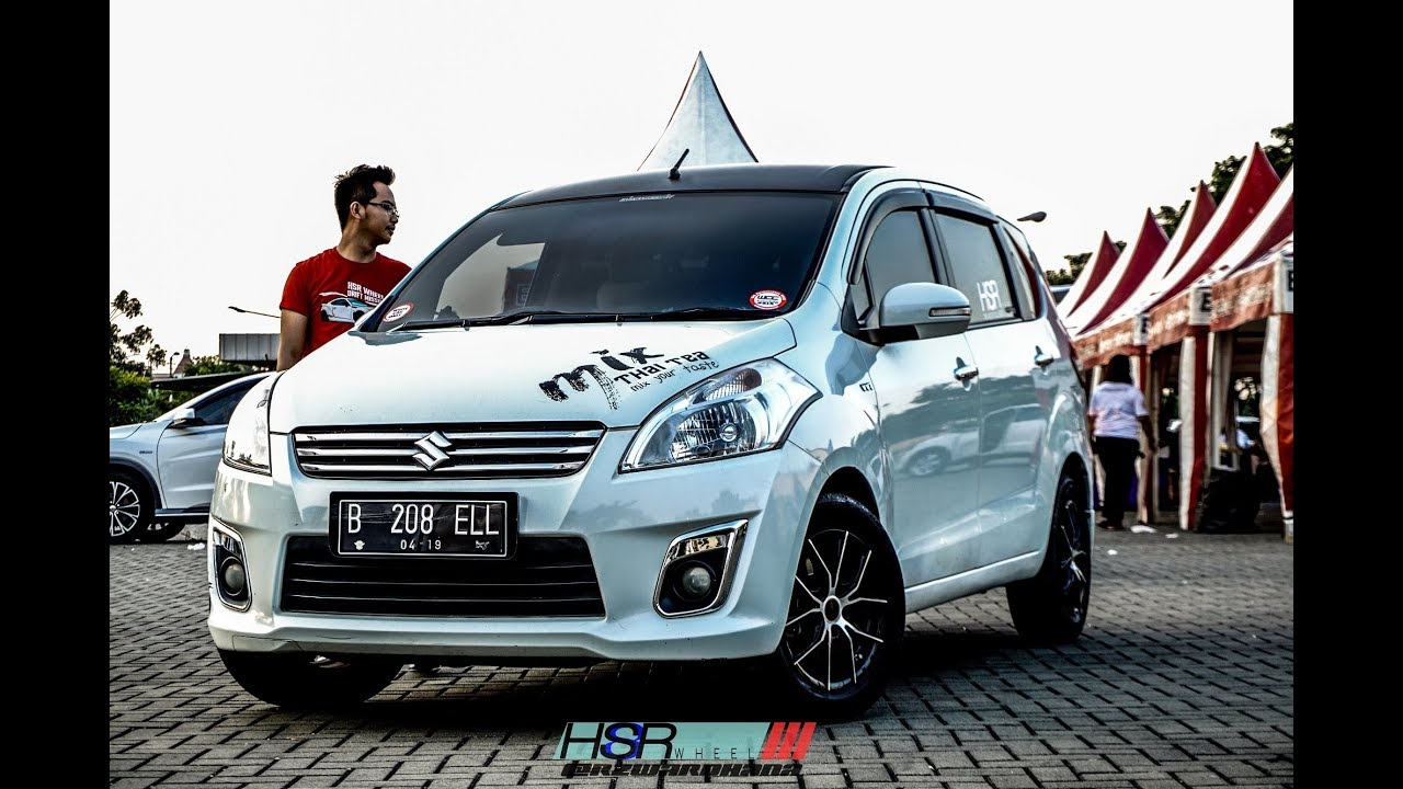 Modifikasi Suzuki Ertiga Menggunakan HSR Wheel Design 15