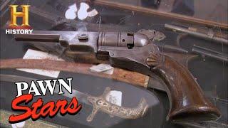 Pawn Stars: RARE Colt Paterson Revolver is the HOLY GRAIL for Gun Collectors (Season 6) | History