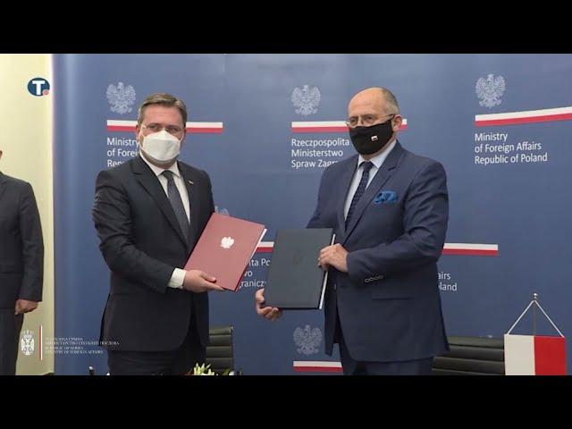 Дуга традиција дипломатских и пријатељских односа Србије и Пољске