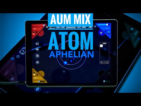 SUBLIME - AUM Mix with APHELIAN, GrooveBox and ATOM Piano Roll. iPad Fail (or wrong Buffer size 😬)