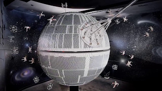 Звезда Смерти из 500 000 деталей LEGO из фильма Звездные Войны (LEGO Death Star)