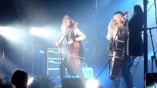Apocalyptica - Enter Sandman - Zagreb, Tvornica - 15.10.2015.