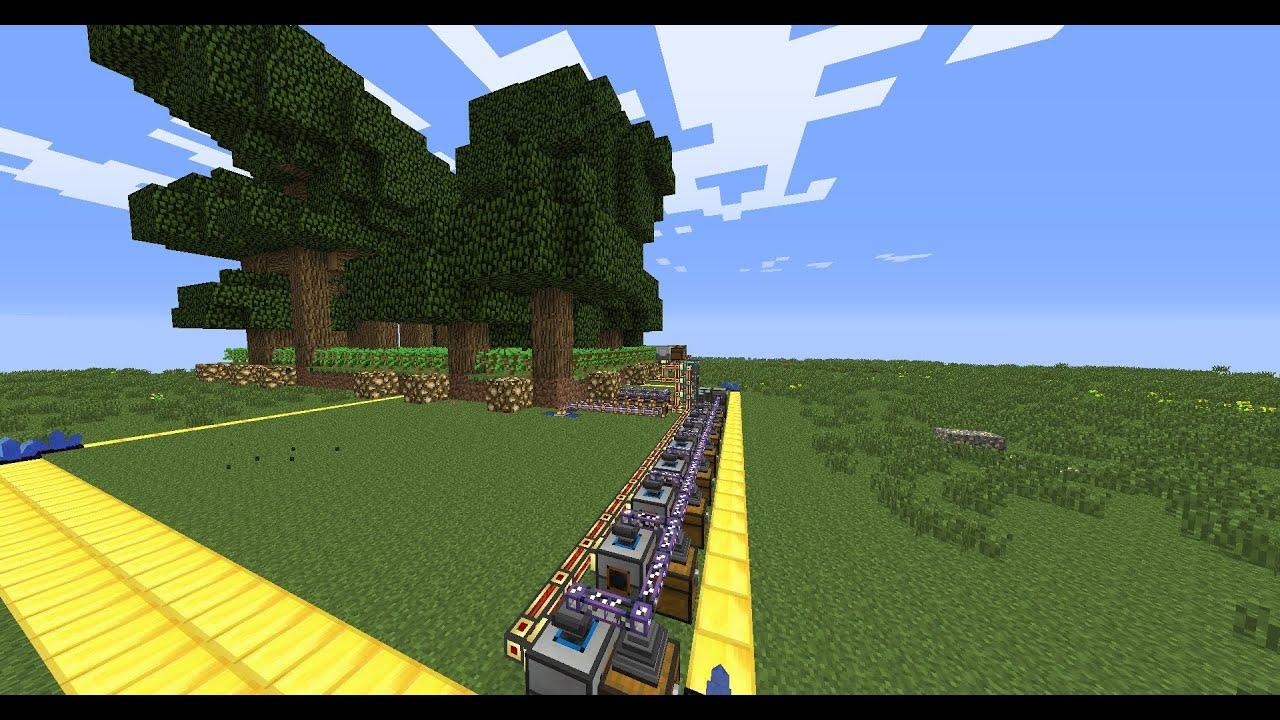 ферма дерева в майнкрафт #11