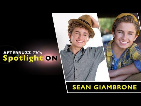 Sean Giambrone   AfterBuzz TV's Spotlight On