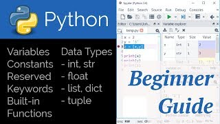 Python for Beginners with Spyder IDE