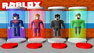 ROBLOX 4 PLAYER SUPER HERO TYCOON! (Roblox Tycoon Roleplay)