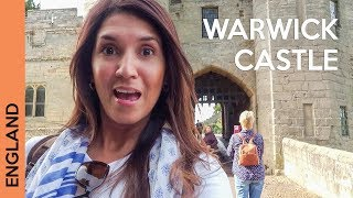 Warwick Castle - UK travel - We slept on the castle grounds!
