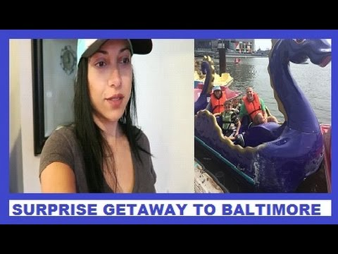 SURPRISE TRIP TO BALTIMORE MD! FAMILY VLOG