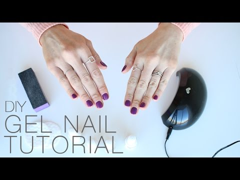 At-Home Gel Nail Tutorial + 70% off LED Light discount!