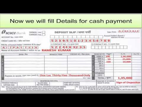 In Icici Credit Card Bill Payment Through Icici Net Banking
