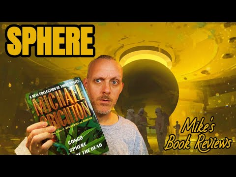 Sphere by Michael Crichton Spoiler-Free Book Review