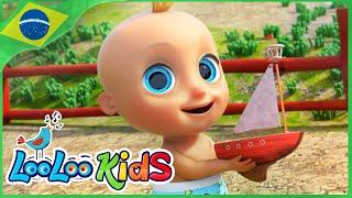 Reme, reme, reme o barco  - Música Infantil | LooLoo Kids Português
