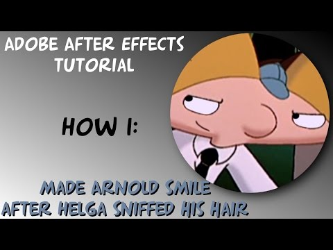 AAE | How I made Arnold smile after Helga sniffed his hair