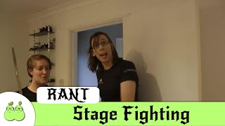 A Rant About Stage Fighting and Game of Thrones (Swearing)