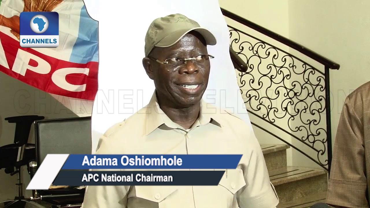 Download I Can't Help Gov Okorocha Create 'Rochas Okorocha Political Dynasty'-- Oshiomhole